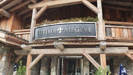 Ultima Megéve in France. Picture:Georgia Barrow