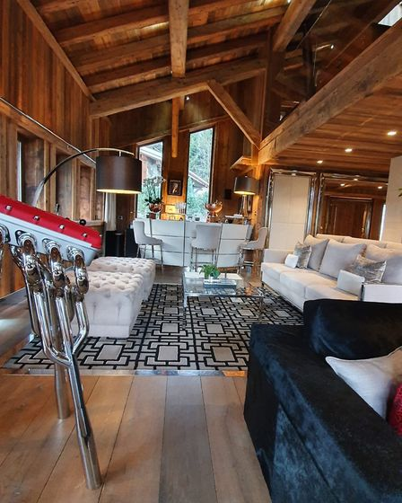 Ultima Megéve in France has a homely, yet luxurious atmosphere. Picture:Georgia Barrow