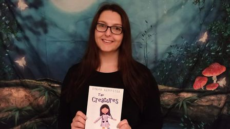 Sarah Kempster from Stevenage has published children's book, The Creatures. Picture: Courtesy of Sar