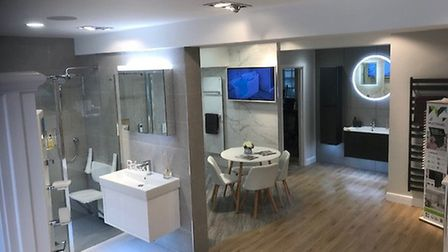 BMAS Hitchin, a specialist mobility bathroom provider, recently opened in the town. Picture: Abigail