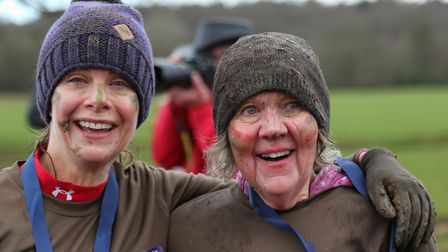 Over 650 steely runners tackled the 5km course on Saturday afternoon. Picture: Terry Linton