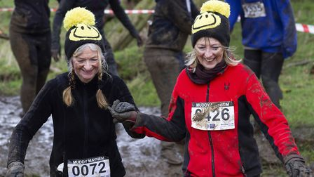 Over 650 steely runners tackled the 5km course on Saturday afternoon. Picture: Steve Granger
