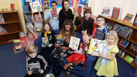 CALA Homes donated 100 in book vouchers to Pirton School for World Book Day. Picture: Tim George