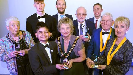 The 2020 Chair's Volunteer Achievement Awards winners. Picture: Nic Cooper