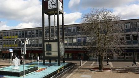 The #MyTown initiative will bring £25 million of funding to Stevenage. Picture: Danny Loo