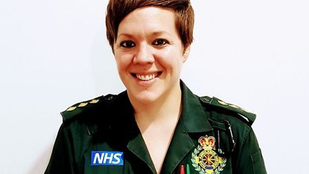 Senior paramedic Vicky Lovelace-Collins was passionate about her job and about saving the NHS.