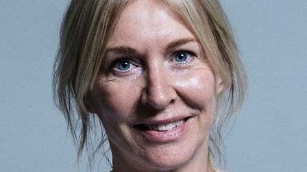 Mid Bedfordshire MP Nadine Dorries has tested positive for coronavirus. Picture courtesy of Nadine D