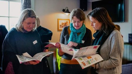 More than 25 businesswoman went along to the first Mothers in Business Stevenage networking event si