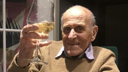 Dunkirk veteran from Stevenage George Clark has died aged 101. Picture: Julie Page