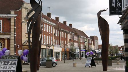 """Leaders have recognised the need to """"inject vibrancy"""" into Letchworth town centre. Picture: Danny Lo"""