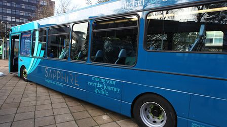 Hertfordshire's bus services are set to benefit from the PM's funding announcement. Picture: Harry H