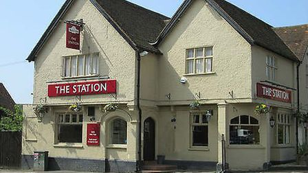 The Station pub in Knebworth - pictured here before the refurb - has been at the centre of a long-ru