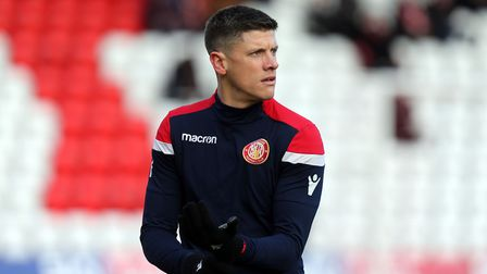 Alex Revell has been placed in charge of Stevenage (pic David Simpson/TGS Photo)