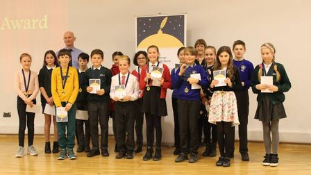 Schoolchildren across Stevenage and North Herts take on writing challenge and awarded with ceremony.