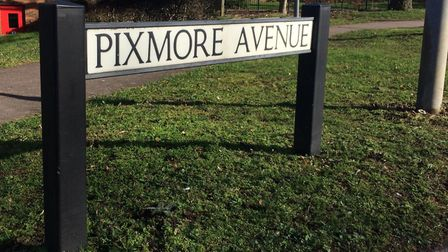 Pixmore Avenue has been labelled 'dangerous' for pedestrians after a series of near-misses. Picture:
