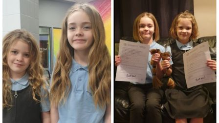 Annie and Katelyn Parry have donated their hair to the Little Princess Trust to be made into wigs fo