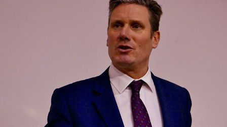 Sir Keir Starmer QC MP. Photo supplied by St Albans Labour Party.