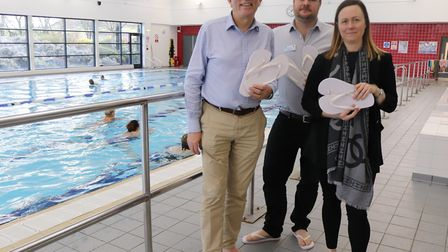 If you visit Hitchin Swimming Centre or North Herts Leisure Centre you can swim for free if they bri