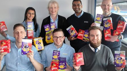 Access Self Storage in Stevenage has launched its Easter egg appeal for 2020. Picture: Courtesy of G