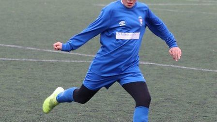 Chloe Jo Beak is a keen footballer and very active 10-year-old. Picture: Courtesy of Kerry Beak