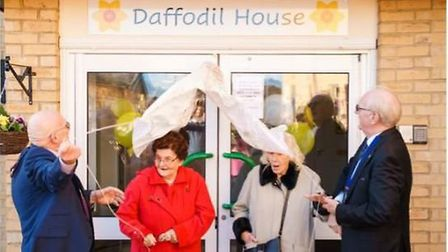 Daffodil House was opened last month by the Mayor of Shefford. Picture: Meppershall Care Home
