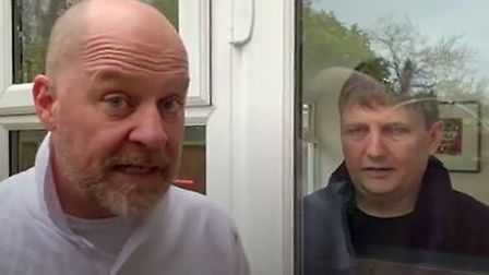 Stevenage-based comedy duo Lee and Dean have shared their coronavirus tips. Picture: Lee and Dean