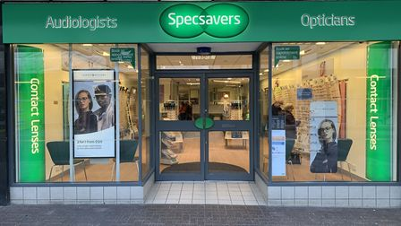 Specsavers in Stevenage is offering extra eye tests for children during the school closures. Picture