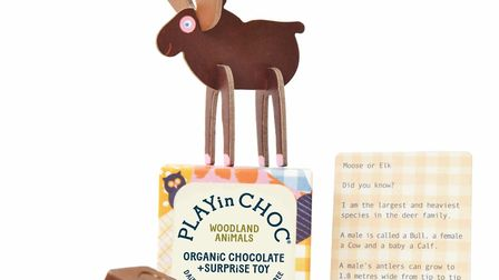 The alternative to an Easter egg: a ChocInPlay chocolate gift. It contains organic, dairy free choco