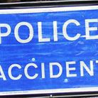 A man has died after he was involved in a collision with a car at junction 8 of the A1(M)