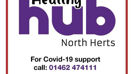 North Hertfordshire District Council's Healthy Hub will now focus specifically on providing coronavi