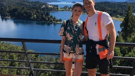 Kerrianne Clinton and Jake Evans are stranded in Argentina after the coronavirus outbreak led to a l