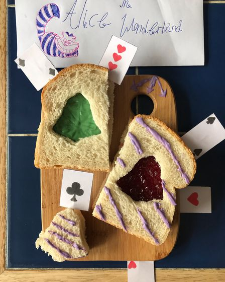 Fearnhill School pupils have been sharing their culinary creations on the school's Facebook page. Pi