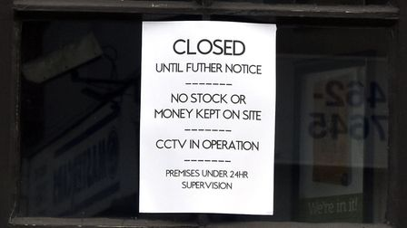 Hitchin pubs and bars are closed until further notice. Picture: Allan J Millard