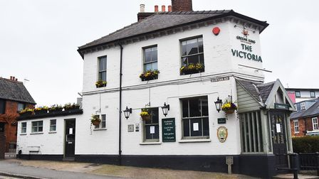 The Victoria pub on Ickleford Road, closed for business. Picture: Allan J Millard
