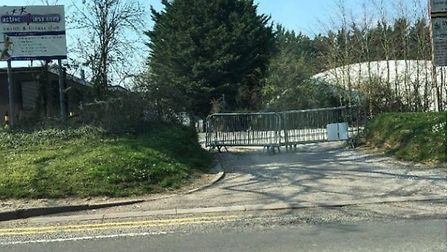 Active Fitness's car park in question in North Road, Stevenage. Picture: Supplied