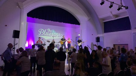 Last year's Rock and Roll with The Bluejays at Hitchin Town Hall. This year's Hitchin Festival has b