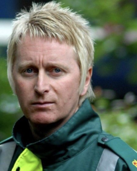 Gary Sanderson, who works fro the East of England Ambulance Service in Stevenage. Picture: Supplied