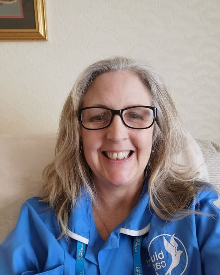 Helen Welch, who works for Bluebird Care in Stevenage. Picture: Supplied