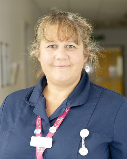 Pam Langford, a multiple pregnancy midwife at Lister Hospital in Stevenage. Picture: Supplied