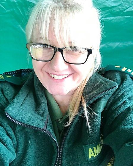 Roni Hearn, who works for the ambulance service in Stevenage. Picture: Supplied