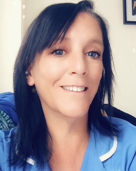 Sarah Webster, who works as a carer in Stevenage. Picture: Supplied