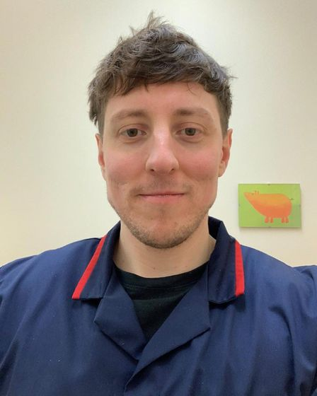 Scott Horsley, who is a nurse at Lister Hospital in Stevenage. Picture: Lauren Hague