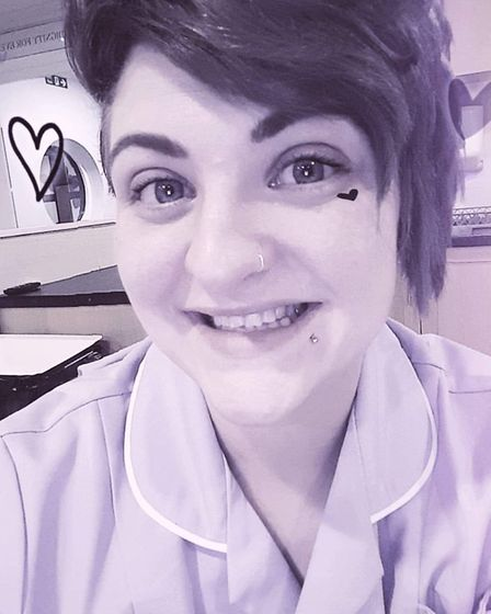Stacey Dommett, who is a carer from Stevenage. Picture: Supplied