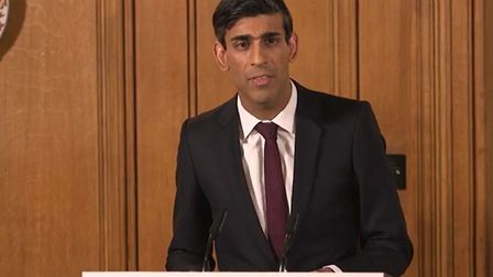Chancellor Rishi Sunak announced the new fast-track loan scheme on Monday. Picture: Supplied