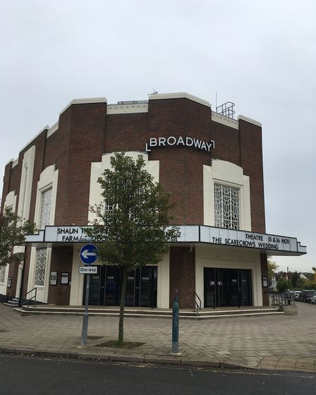The Broadway Cinema and Theatre in Letchworth has closed until further notice. Picture: Alan Davies