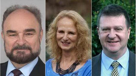 Cllrs Paul Fairhurst, Barbara Light and Anthony Gerard all held cabinet positions at UDC as R4U coun