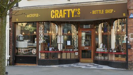 Spend isolation getting to know your beers, wine and spirits. Image: Crafty's Beer Shop