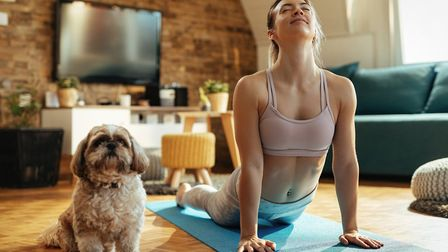 Keep up your fitness and maintain your mental wellbeing at home with yoga. Image: Getty Images