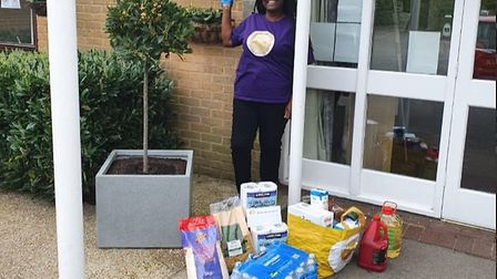 A drop-off at Wisden Court care home. Picture: Shiloh House Chapel
