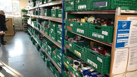 Uttlesford Foodbank in Saffron Walden will receive £500 as part of the cash distribution. Picture: C